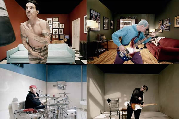 Red Hot Chili Peppers - Look Around :: vídeo interactivo