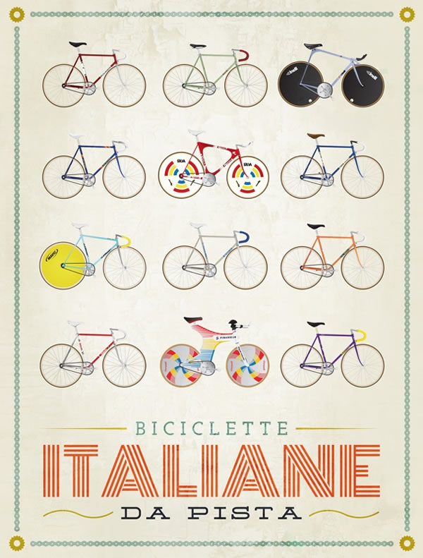 Bicycles Graphic Design