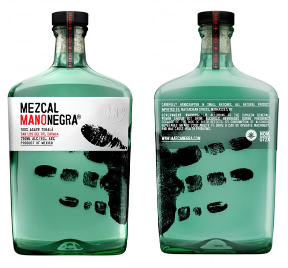 Mezcal ManoNegra :: packaging