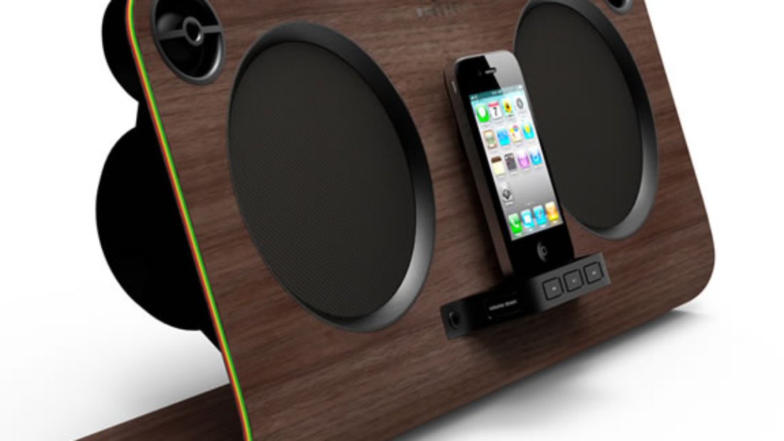 Get Up, Stand Up :: altavoces para iPod, iPhone y iPad